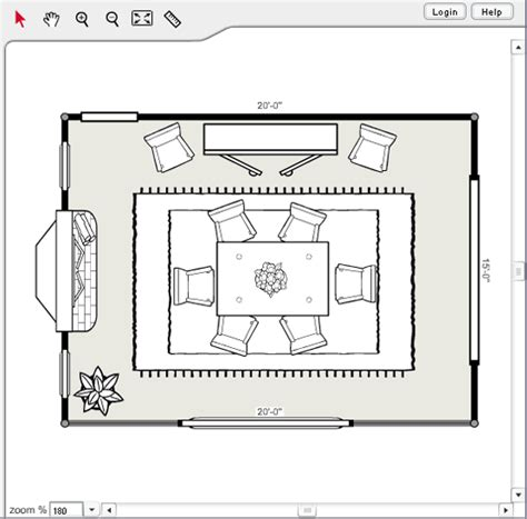 room floor plan template plan a room layout home design