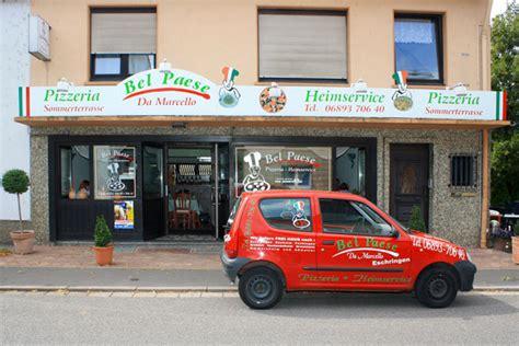 bistromöbel restaurant bel paese in saarbr 252 cken eschringen