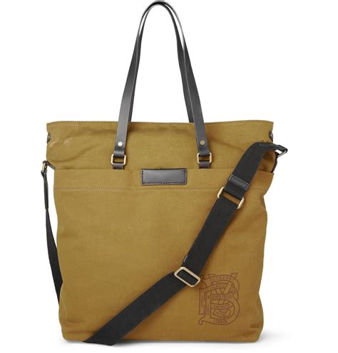 tote bags burberry arley canvas and leather tote bag s bags