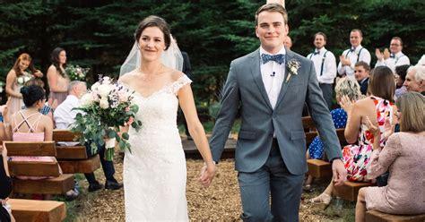 molly roloff and joel silvius intimate wedding pics us weekly