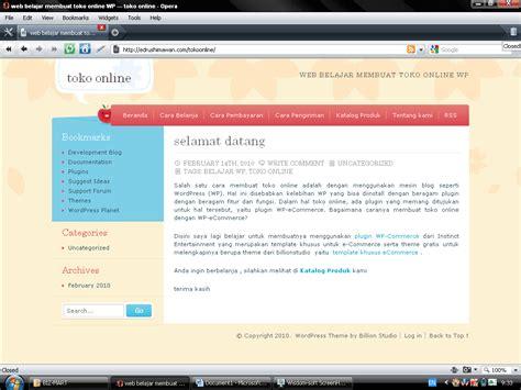 membuat toko online dengan java membuat toko online dengan wordpress edrushimawan blog