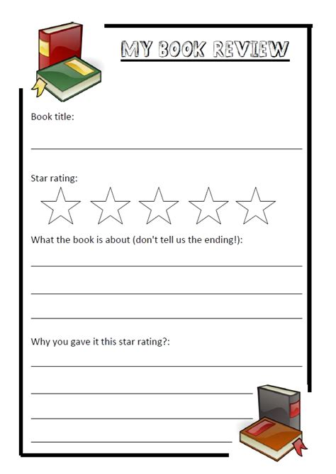 Book Review Template Primary Resources simple book review template primary resources of an nqt