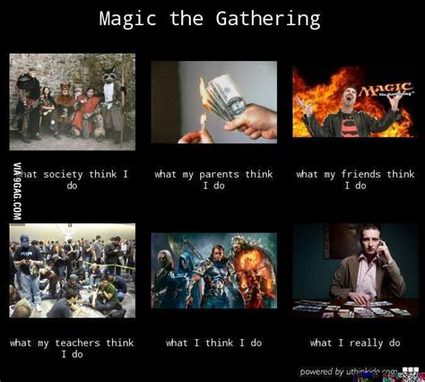 Magic Card Meme - magic the gathering meme