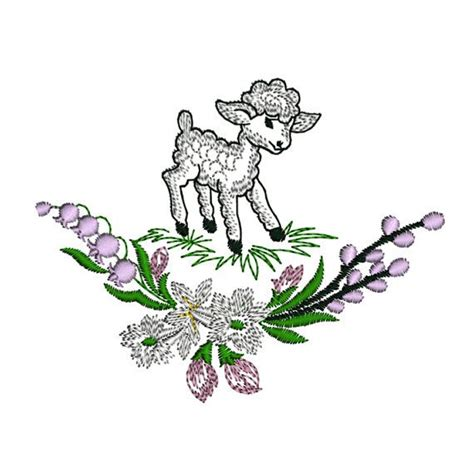 embroidery design lamb 17 best images about lambs on pinterest cute lamb