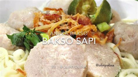 Bakso Sapi Kecil Vitalia 270gr resep cara membuat bakso sapi by olinyolina