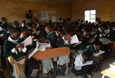 Shared Desks No Left Behind Education In Africa World