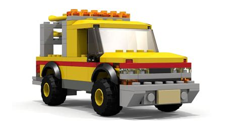 tutorial lego truck moc lego baywatch pickup truck tutorial youtube