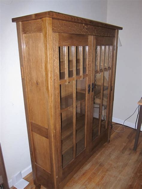 craftsman bookcase craftsman style bookcase by jackmoony lumberjocks