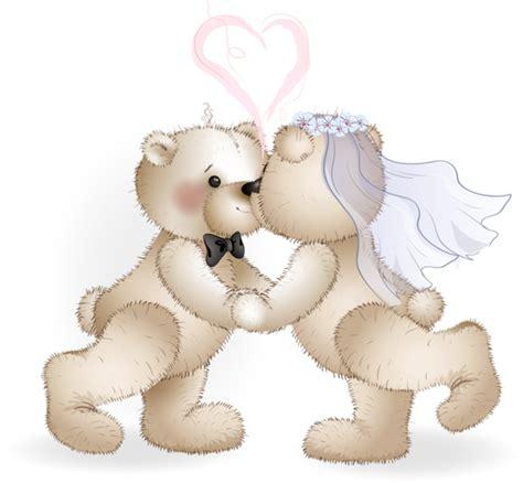Wedding Bears by Dibujos Clipart Digi Sts Wedding Bears Dibujos
