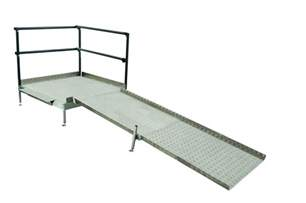 Handrails For Disabled Modular Wheelchair Ramps Modular Wheelchair Ramp Systems