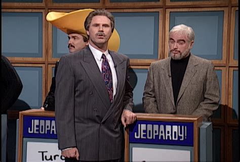 celebrity jeopardy sean connery and burt reynolds jake s take my favorite snl moments characters jake s