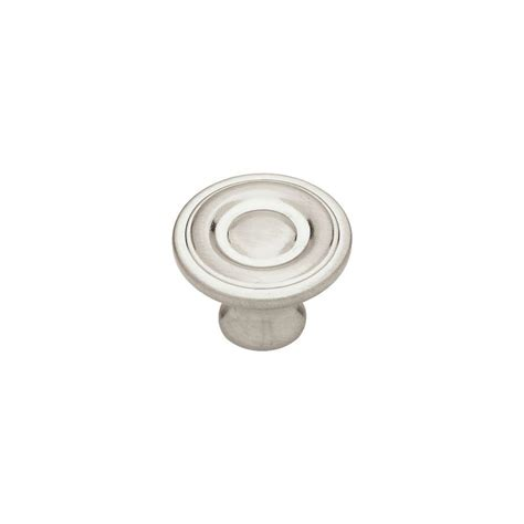 liberty 1 1 4 in satin nickel hollow cabinet knob p11747v sn c liberty 1 1 4 in satin chrome hollow cabinet knob p11747