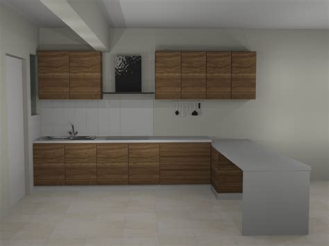 3d kitchen cabinet design