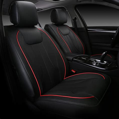 sport car seat cover designs 9pcs universal luxury automobiles seat covers stitching