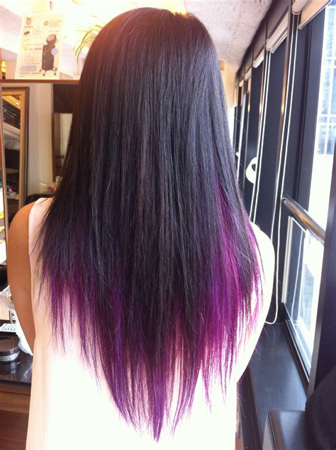 hair color darker underneath blonde with purple underneath hair and makeup my