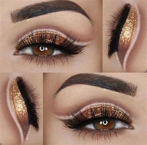 Eyeshadow Gold gold eyeshadow and eyebrows pictures photos and