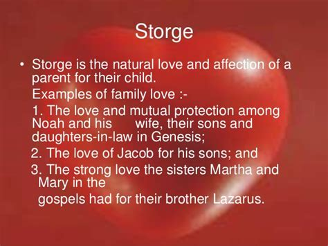 Storge love marriage