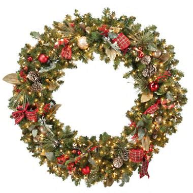 60 inch lighted outdoor christmas wreath 60 quot pre lit premium wreath sam s club