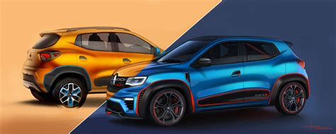 kwid renault 2016 renault kwid racer and renault kwid climber premiered at