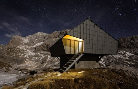 alpine architecture century old wwi bunker is reborn as a contemporary alpine shelter bivak na prehodavcih by