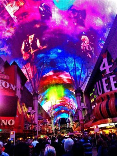 las vegas fremont light light picture of fremont experience las