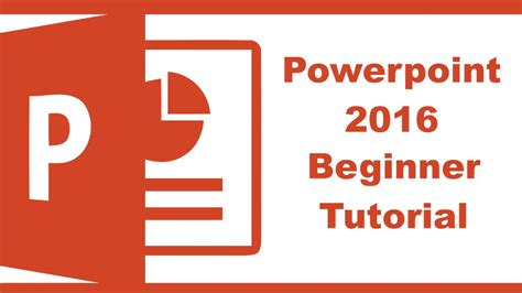 tutorial for powerpoint powerpoint 2016 beginner tutorial
