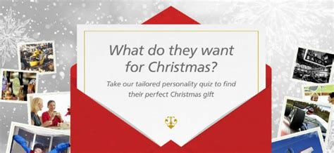 gift finder quiz what is their ideal christmas present