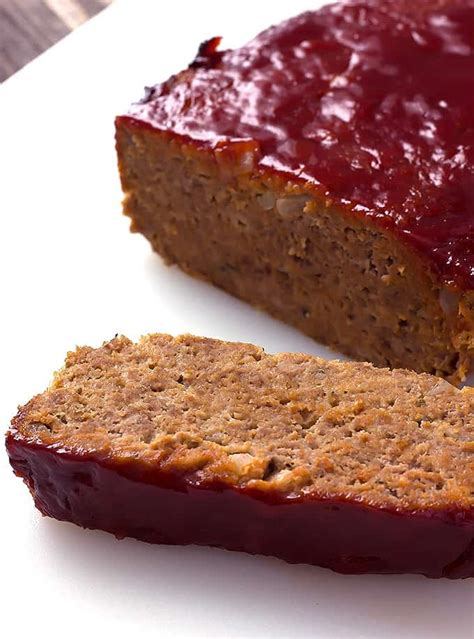 meatloaf recipe best the best classic meatloaf the wholesome dish