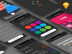 android color palette android color palette app sketch freebie free