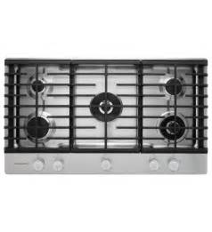 kitchenaid gas on glass cooktop kitchenaid 174 36 5 burner gas cooktop with griddle
