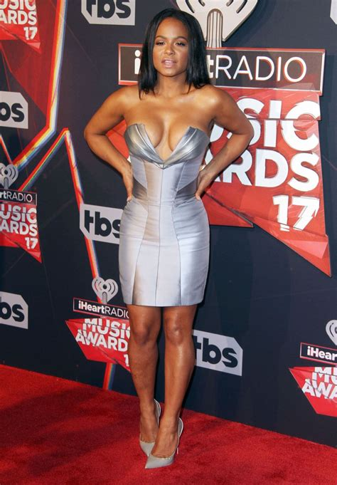 Christina Milian – iHeartRadio Music Awards in Inglewood 3 ... Iheartradio Awards 2017