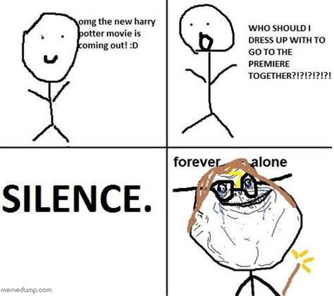 Forever Alone Guy Meme - hilarious forever alone guy internet meme picture
