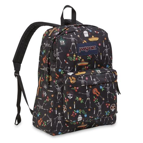 jansport superbreak backpack day of the dead
