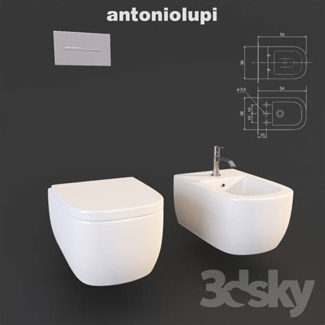 Bidet Sink 3d Models Toilet And Bidet Toilet And Bidet Komodo