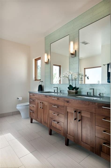 dark walnut bathroom furniture rift sawn black walnut master bath vanity i m obsessed with walnut gorgeous also