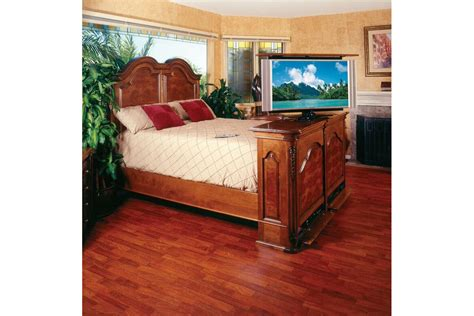 Bedroom Pop Up Tv Custom Traditional Designed Flat Screen Tv Lift Furniture
