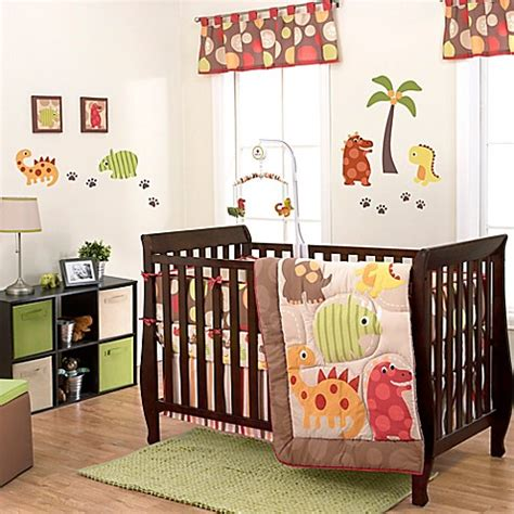 dinosaur crib bedding set buy belle dino world 3 piece crib bedding set from bed