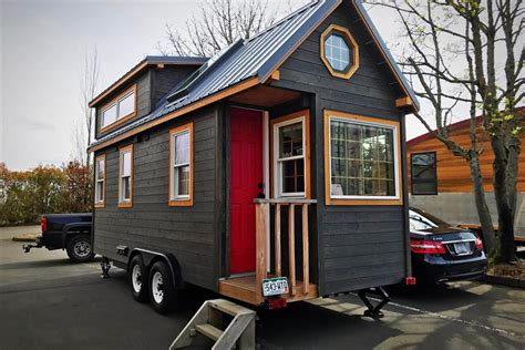 a luxury tiny house on wheels is of big extras