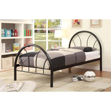 black metal twin bed clarkson black metal twin bed