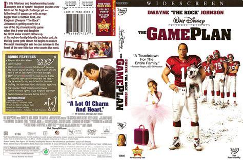 film quiz dvd the game plan 2007 ws r1 movie dvd cd label dvd
