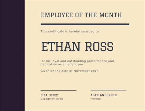 manager of the month certificate template employee of the month certificate driverlayer search engine