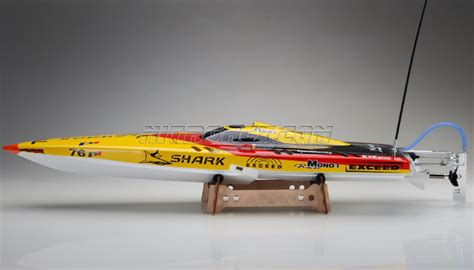 fast rc brushless boats exceed rc boat electric powered ep fiberglass shark