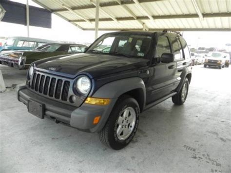 2006 jeep liberty limited edition sell used 2006 jeep liberty limited edition sport 4x4