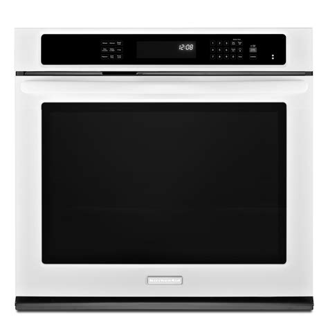 Kitchenaid Kebs109bwh 30 Quot Built In Single Wall Oven