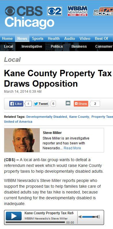 New Wi Property Tax Records Cbs Chicago County Property Tax Referendum Draws Opposition Taxpayers United