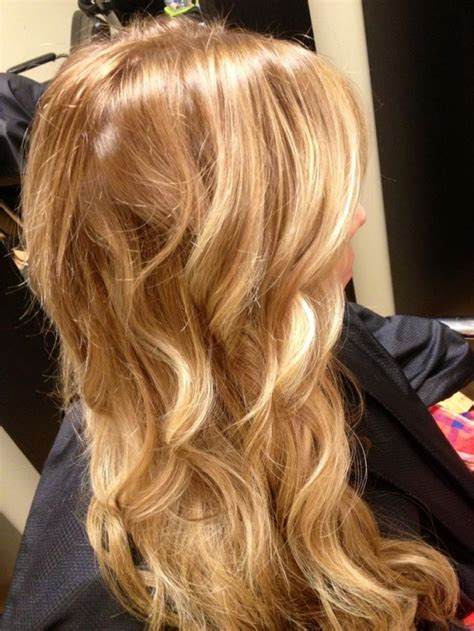 warm color hair highlight palette honeyblonde highlights blonde warm natural iwantthathair