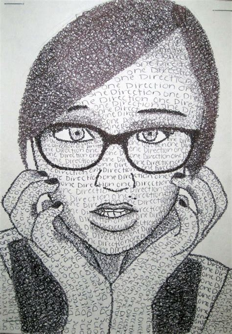S Drawing Middle School by Text Portraits Schoo Middle School