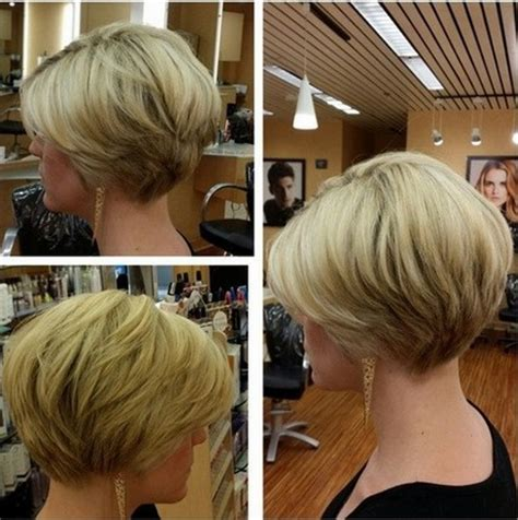 stacked bob haircut for women over 40 stacked short haircuts for women