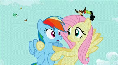 Bgc My Pinkie Pony Rainbow Dash And Friends Kantung Depan Tas R gif animados de mlp rashter