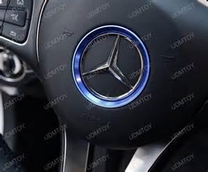Steering Wheel For Mercedes C Class Aluminum Wheel Ring Cover Trims For Mercedes C Class W205